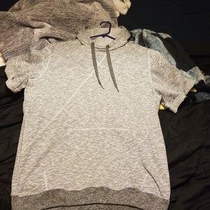 Adidas mens tshirt hoodie NWT